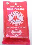 Boston Red Sox Rain Poncho, One size fits all adult unisex